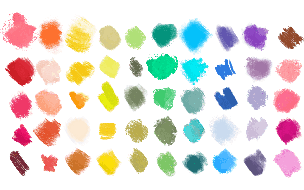 DAUB Brushes for Affinity Designed and Photo