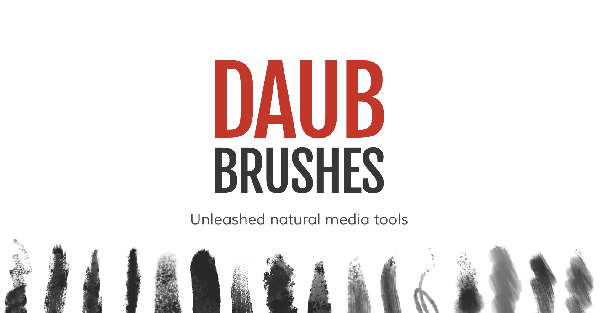 DAUB Brushes - Unleashed natural media tools